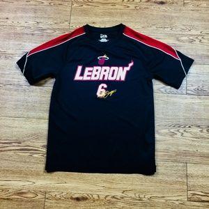Lebron James Miami Heat Warm-Up Shirt